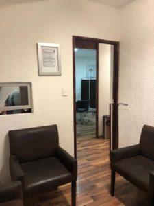 Sala de espera Consmed Ginecología