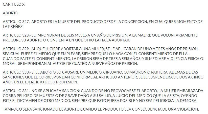 Ley del aborto en Monterrey